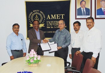 INaWORD signs MoU with AMET University